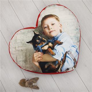 Children love heart pillow design