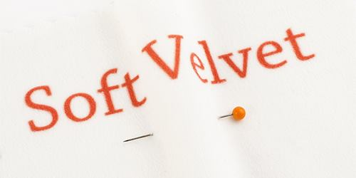 surface soft velvet