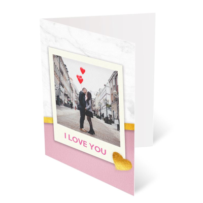 Valentines Card Personalised