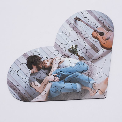 Heart Jigsaw Puzzle montage
