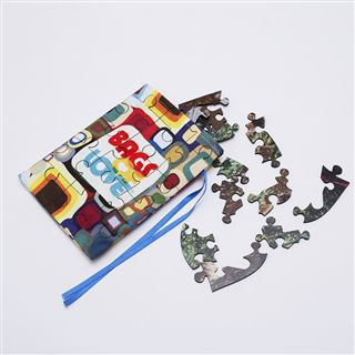 Jigsaw Puzzle with bag