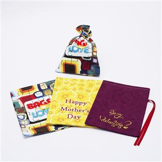 Full range of jigsaw puzzle bags choice of three designs