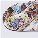 Zoom sur puzzle photo en coeur