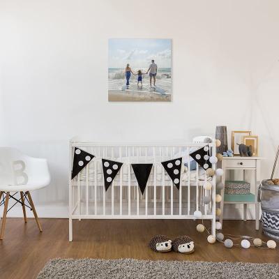 foto lienzo de bebés personalizados