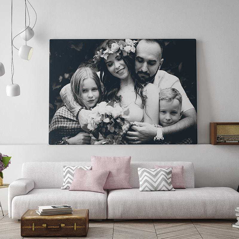 Black And White Photography On Canvas