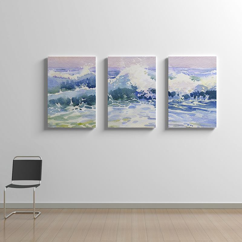 Triptych Canvas Printed With Stunning Artwork