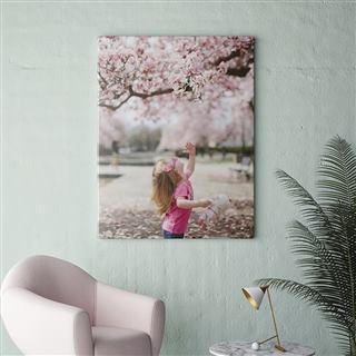 Impression photo enfant sur toile
