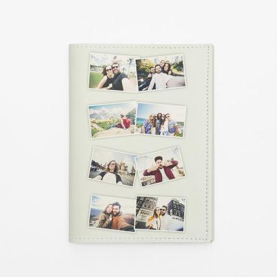 collage de fotos funda pasaporte