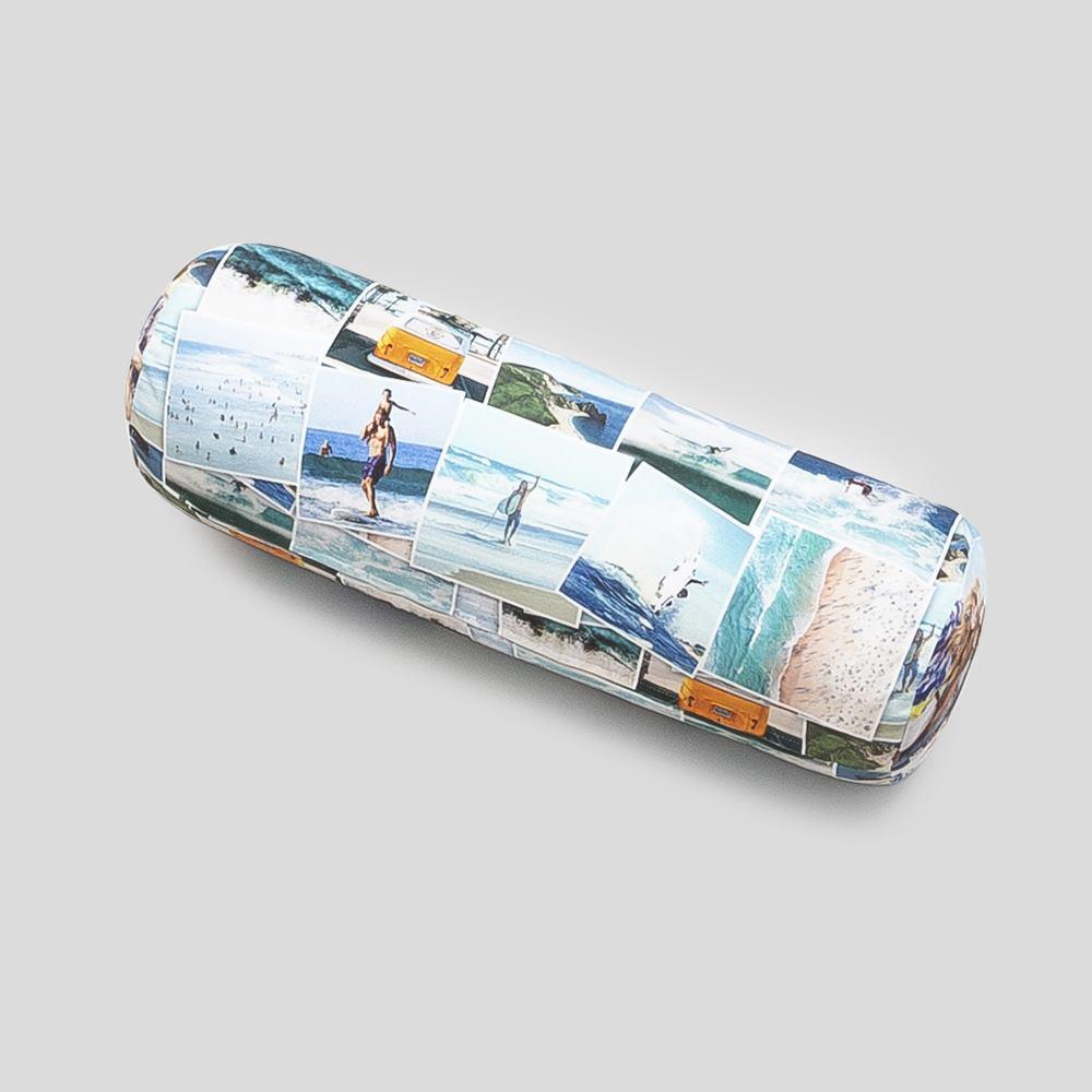 cojines tubo alargados personalizados con fotos
