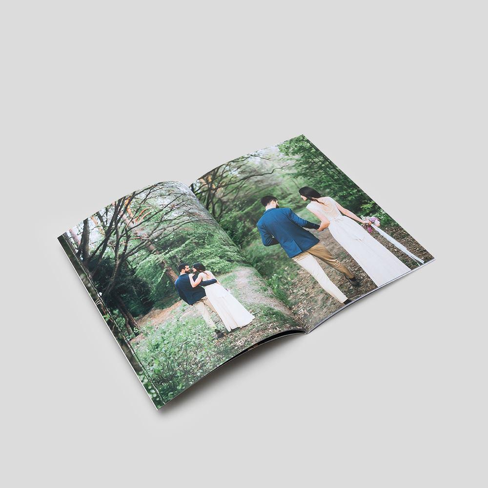 Libro Fotografico Romantico