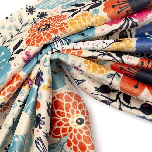 chichi furnishing velour upholstery fabric