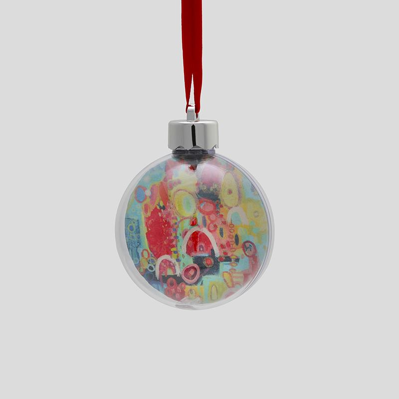 custom christmas bauble