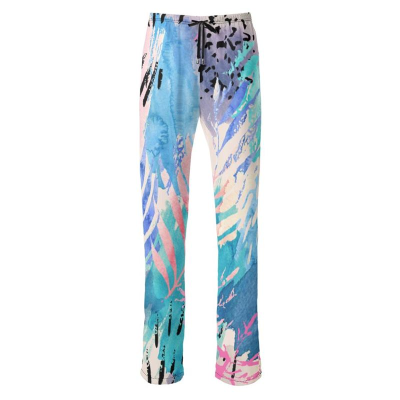 printed trousers womens