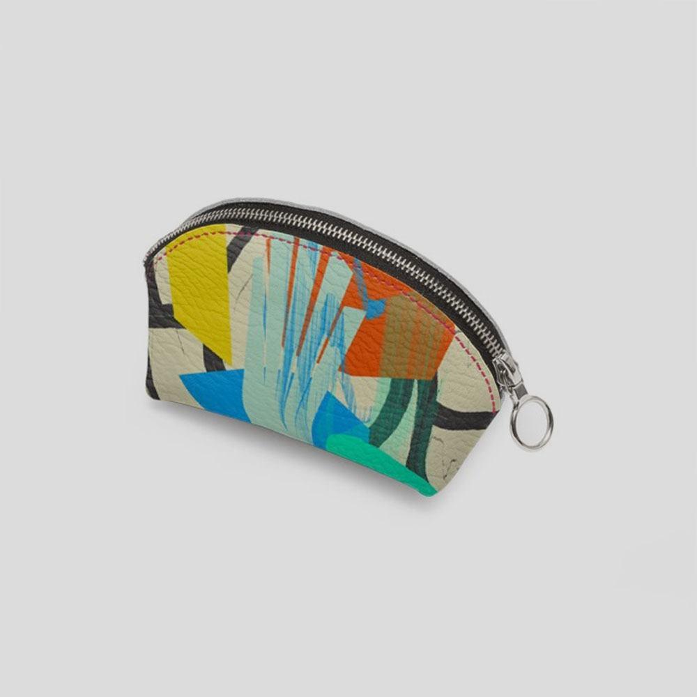 custom printed coin purse