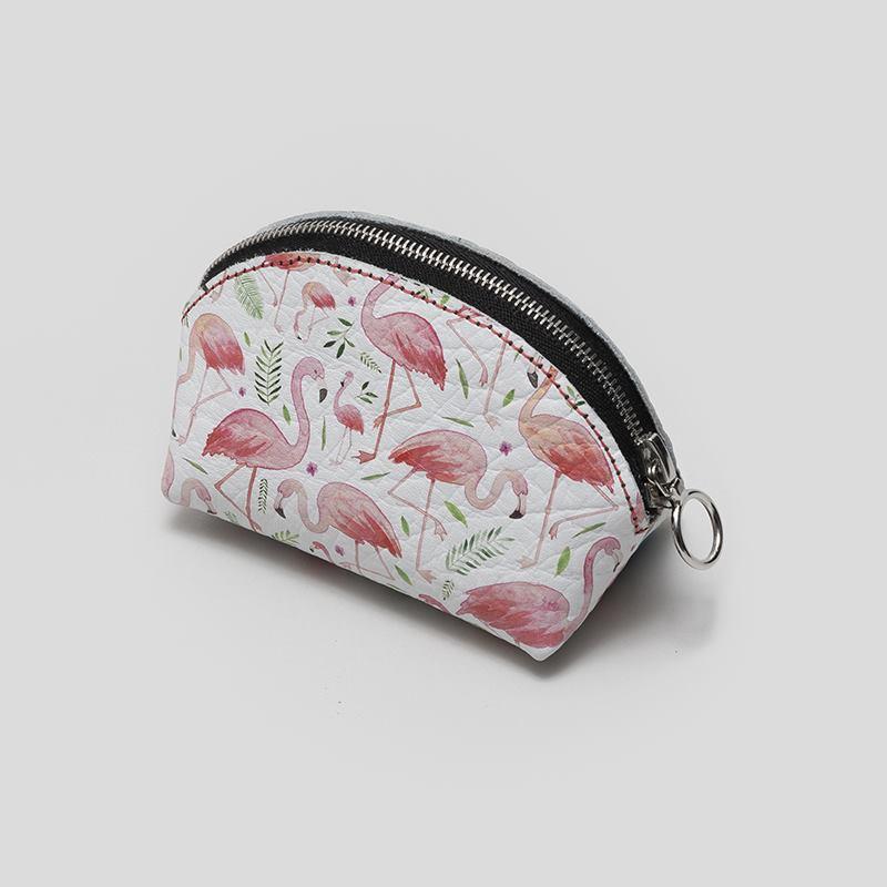 printed coin purse
