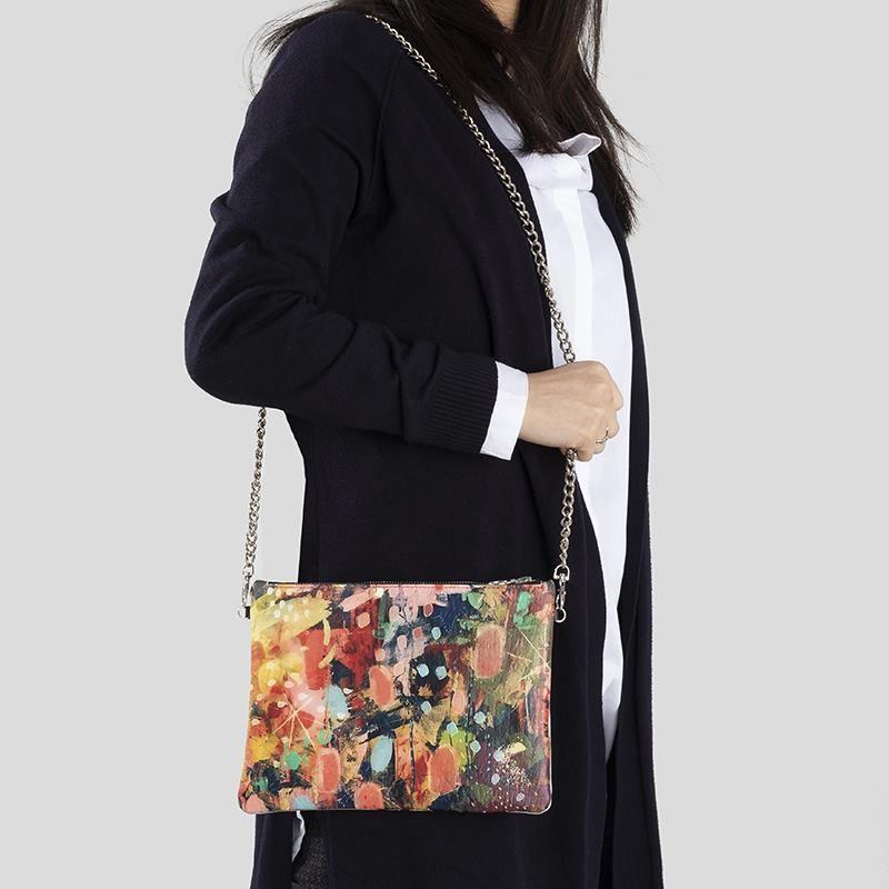 Custom Womens Leather Crossbody Bag
