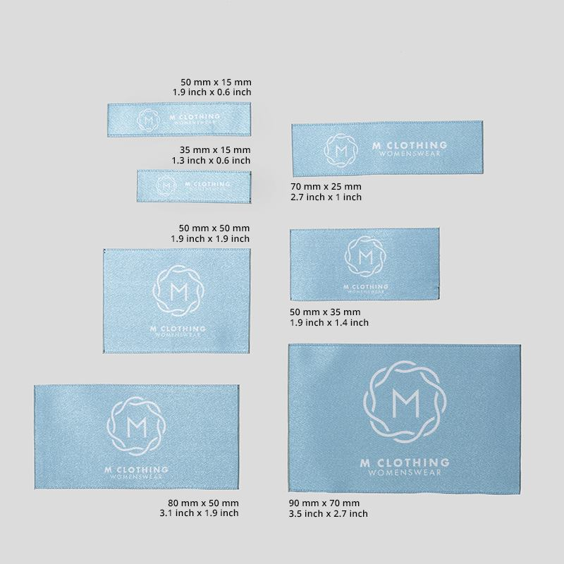 Custom Fabric Labels Personalized