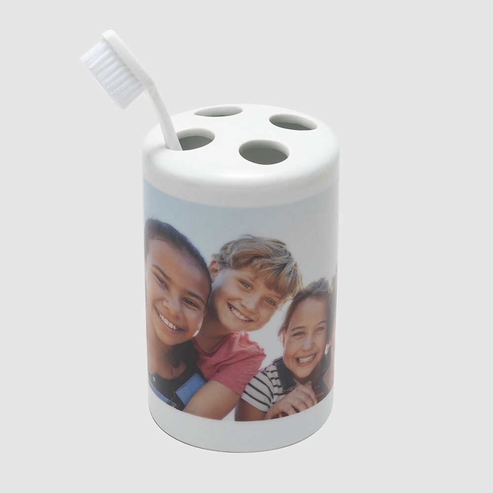 photo toothbrush holder