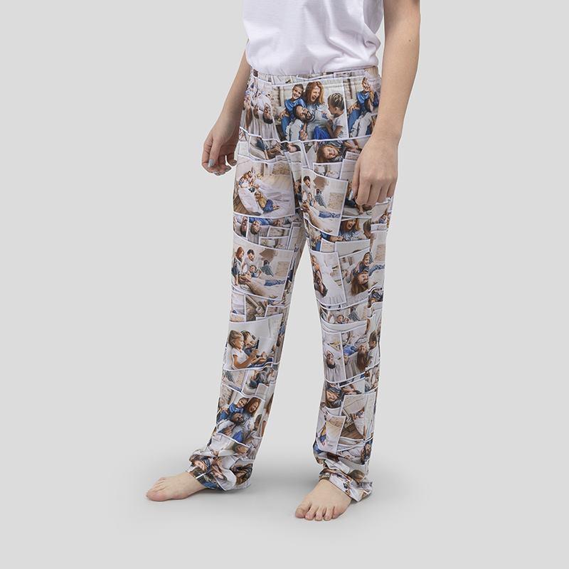Fire Womens Pajama Pants Personalized