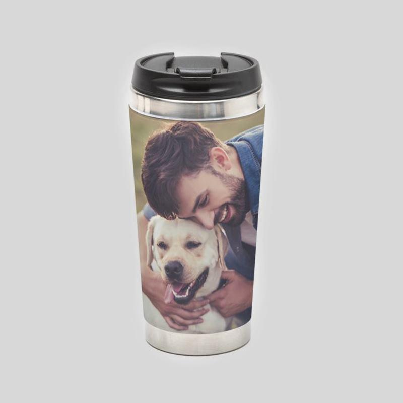 Personalised Travel Mug Design Your