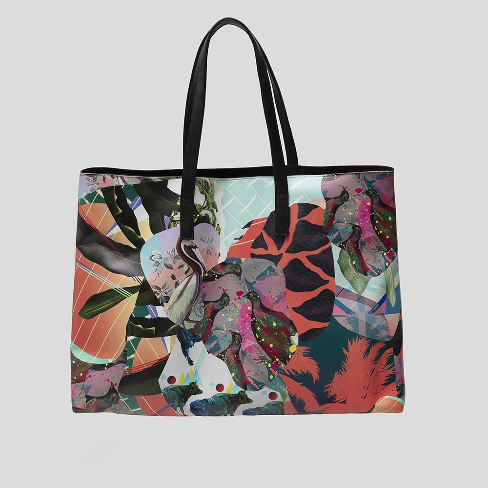 womens leather tote bag