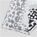 Jersey stretch digital print fabric edge otpions