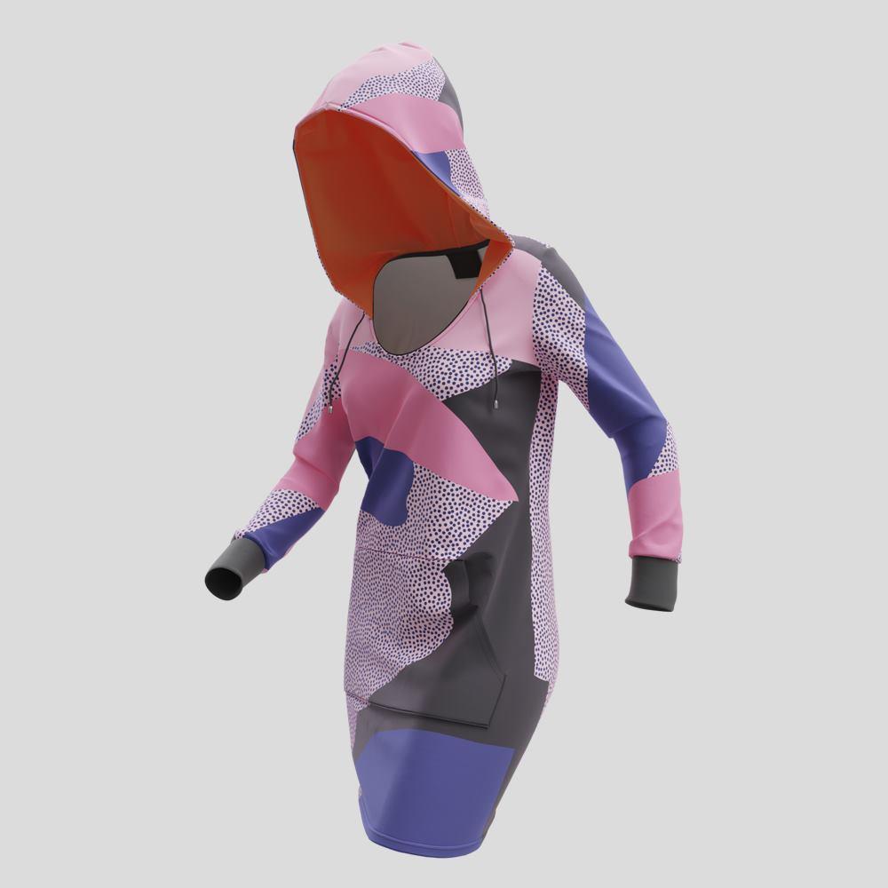 Luvklänning med eget tryck
