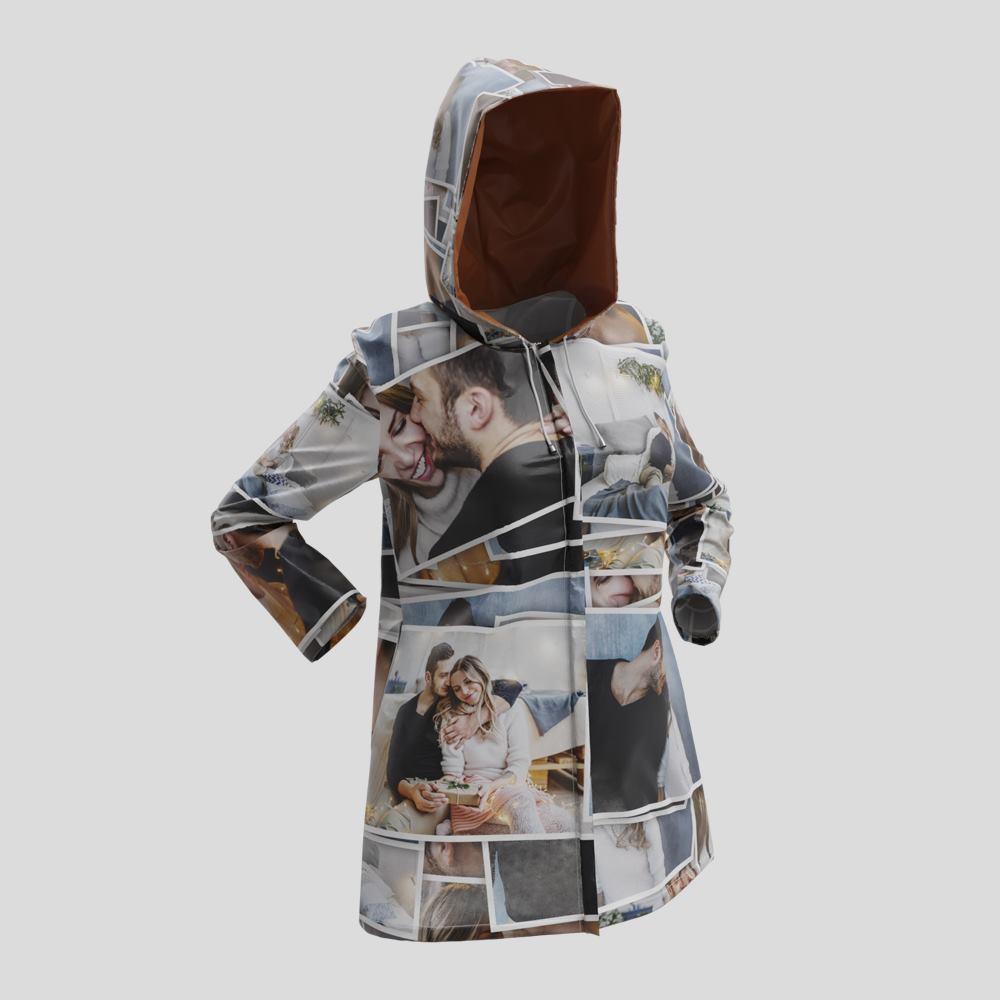 personalized rain jackets