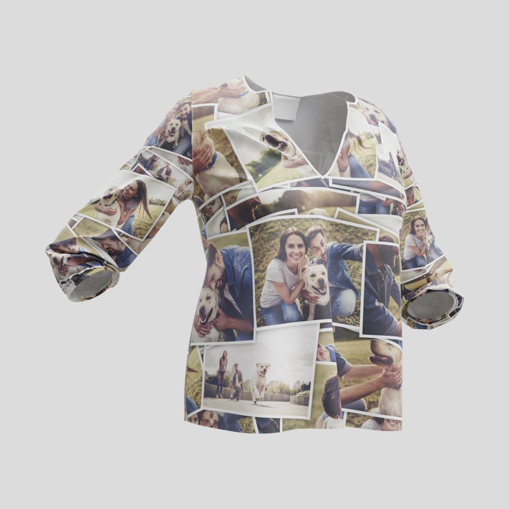 personalized loose fitting blouses