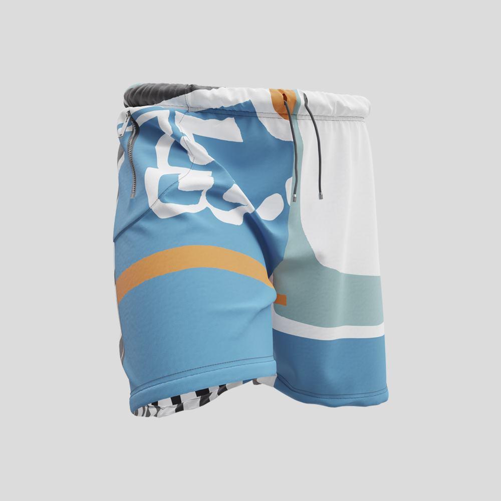 custom mens gym shorts