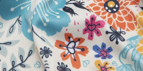 Olympic jersey Print detail