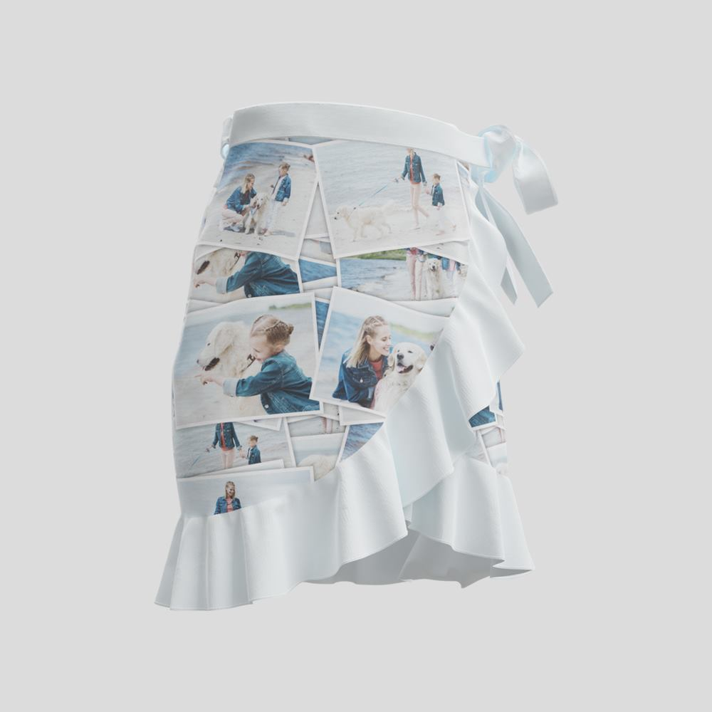 flounce photo skirt