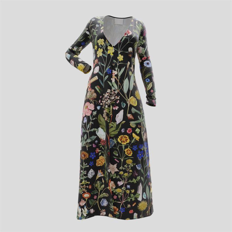 Personlig Slipklänning dam   Designa din egen klänning