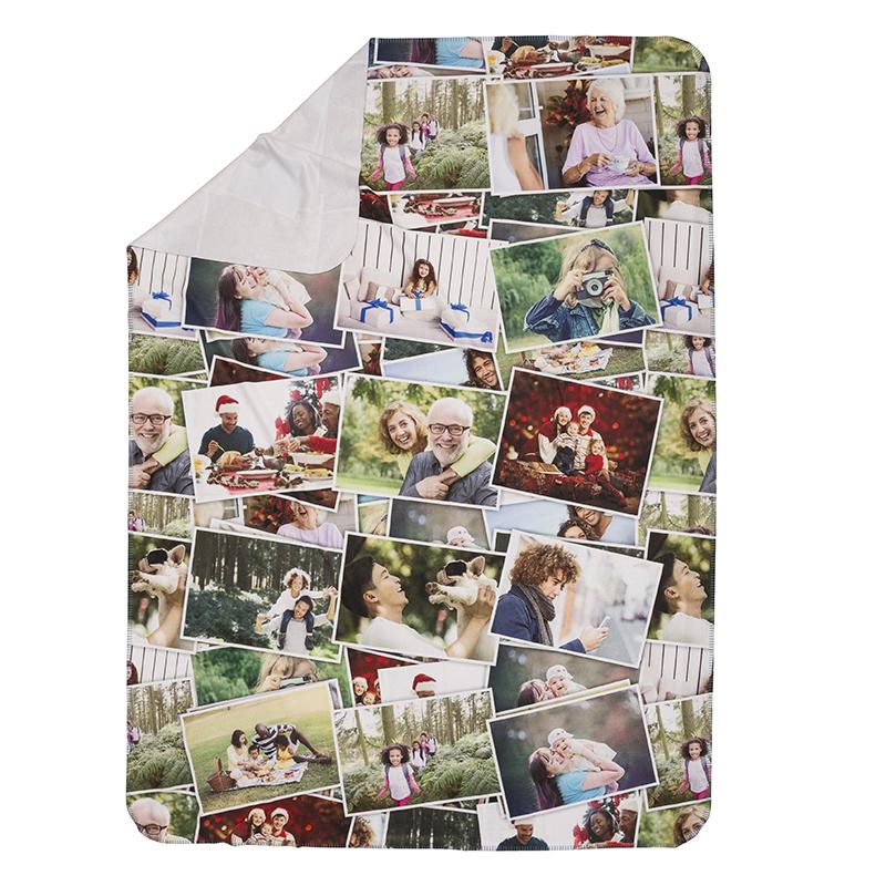 Single Layer Printed Blankets Soft Polar Fleece Single