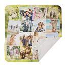 coperta leggera con foto collage