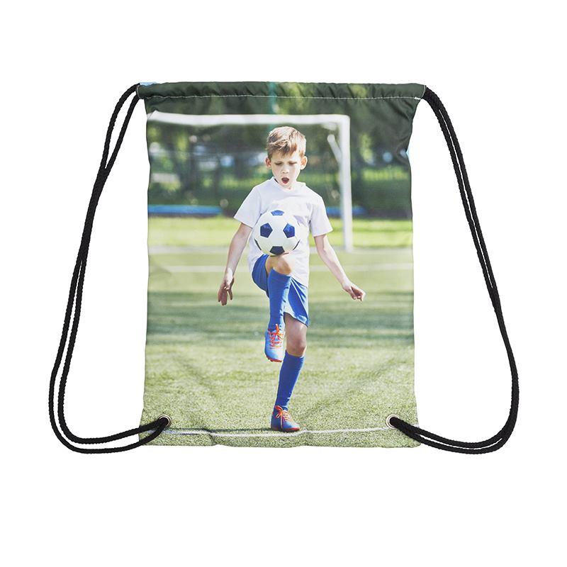 Sac de sport personnalis pour enfant sac ficelle imprim for Sac piscine personnalise
