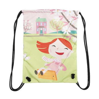 drawstring bag for nursery children