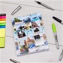 personalised collage note book