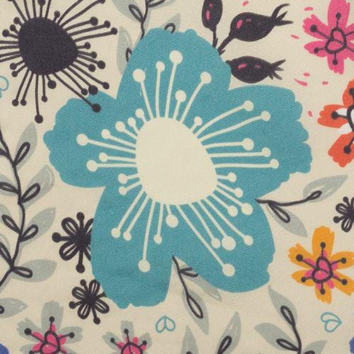 seidentwill bedruckt für patchwork