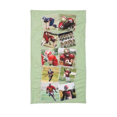 sporthandtuch mit foto collage für herren