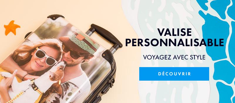 Valise personnalisable avec vos photos