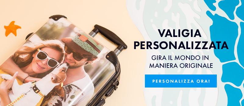 Valigia personalizzata con le tue foto
