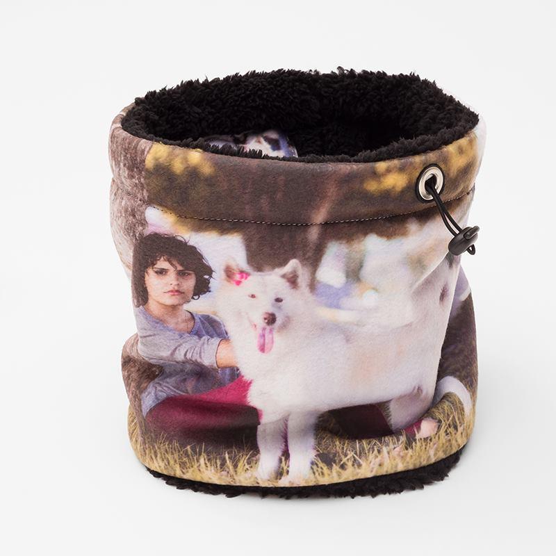 schlauchschal bedrucken lassen foto loop schal selber machen. Black Bedroom Furniture Sets. Home Design Ideas