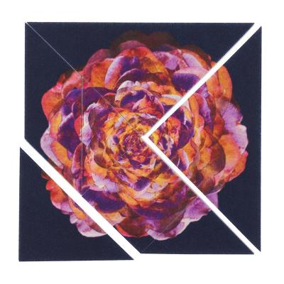 printed tangram for artists