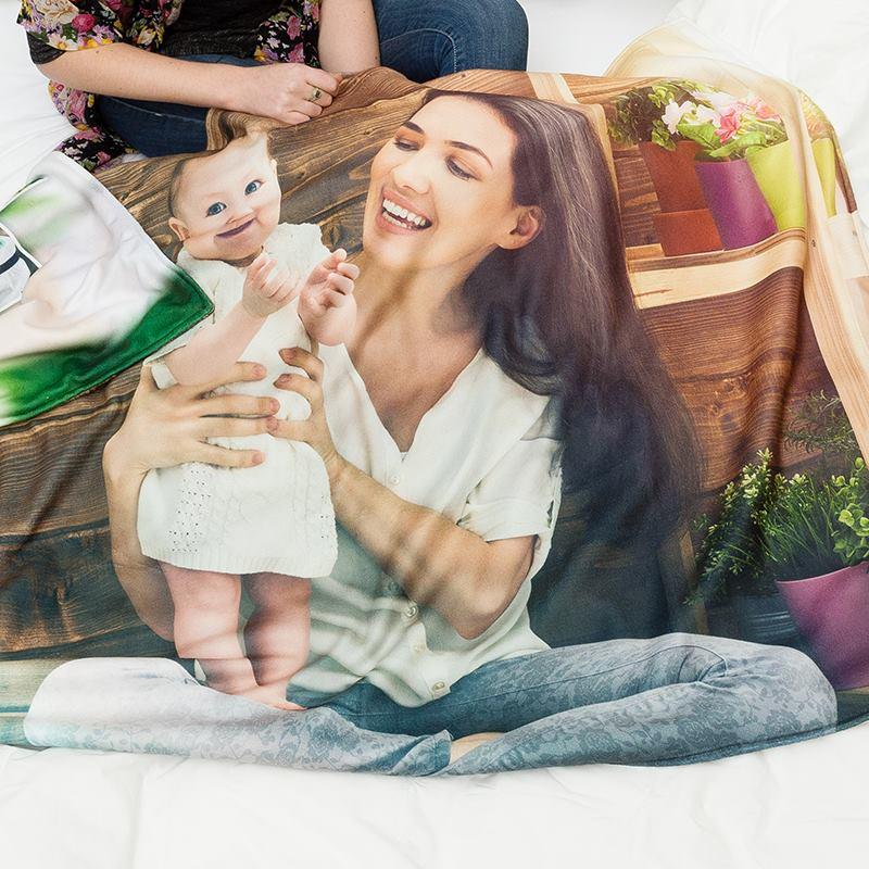 babydecke selbst gestalten fleece babydecke bedrucken lassen. Black Bedroom Furniture Sets. Home Design Ideas