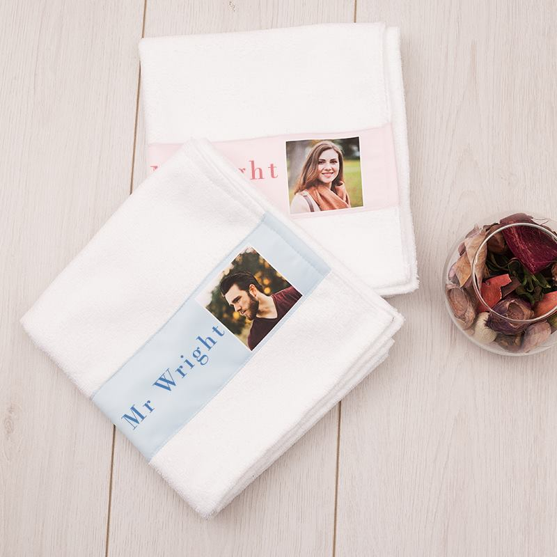 Personalised His And Hers Towels Unique Gifts For Couples