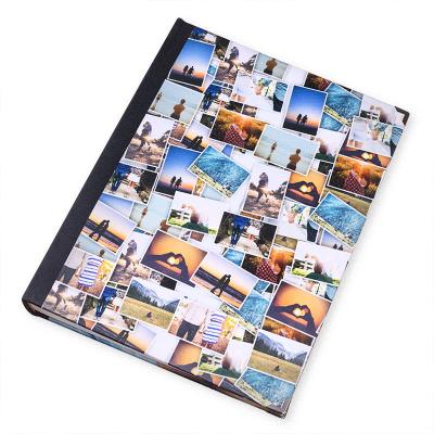 scrapbook fotoalbum mit fotocollage