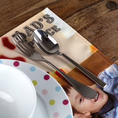 personalised Fabric placemat
