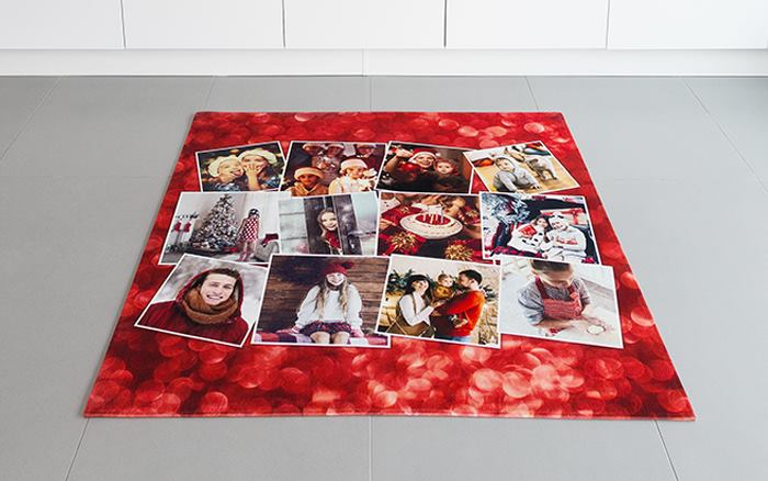 personalised rugs with pictures printed on
