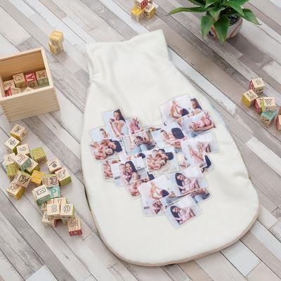 saco de dormir de bebe personalizado para bautizo